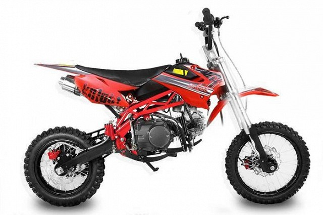 Pitbike Sky 14/12, 125ccm red