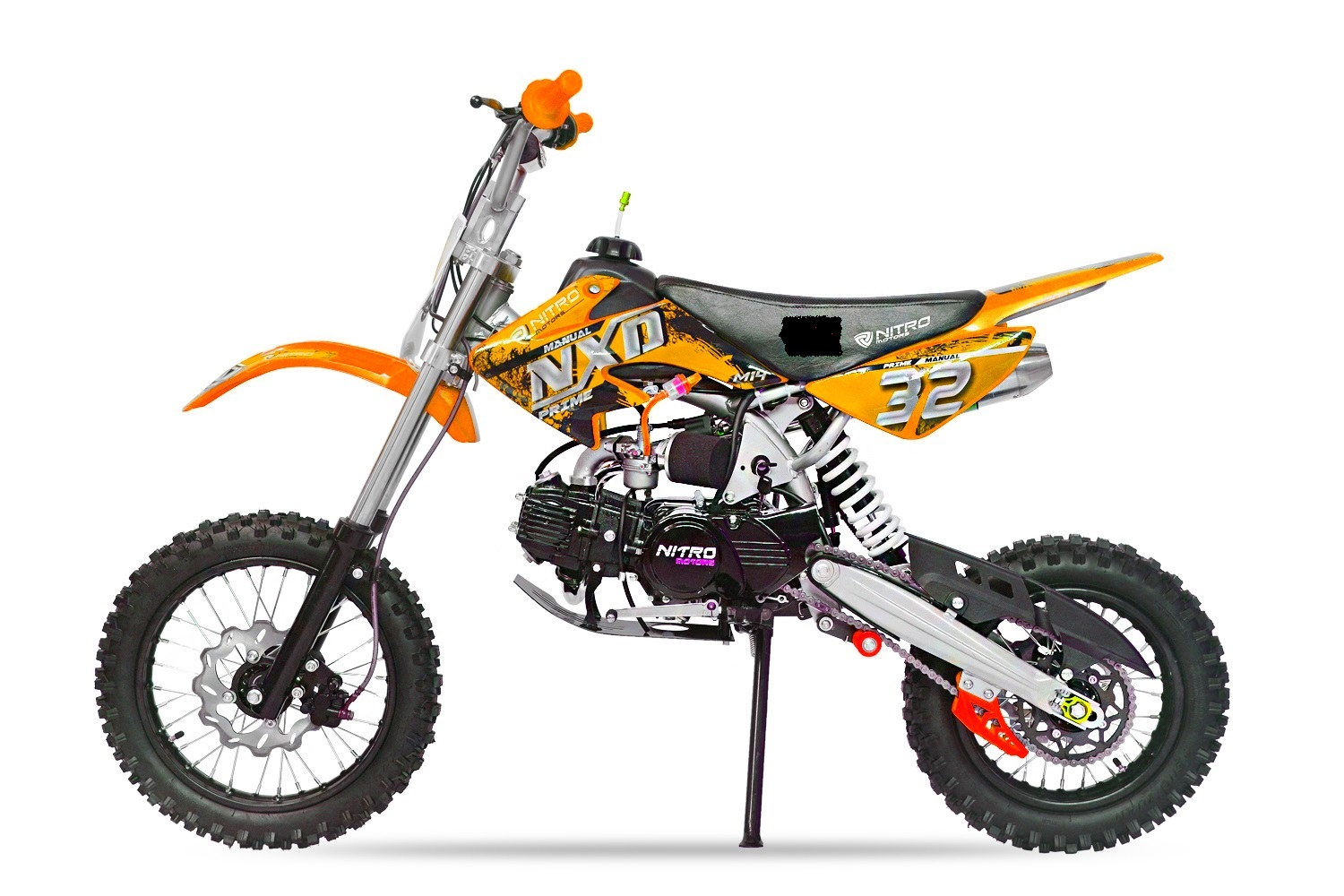 Pitbike NXD 14/12 125ccm orange