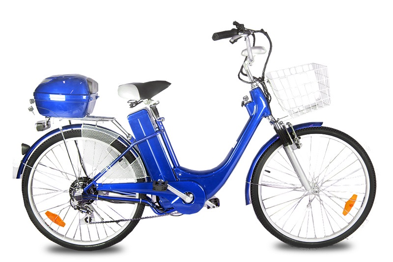 "ELEKTROKOLO - city bike 26"" blue"