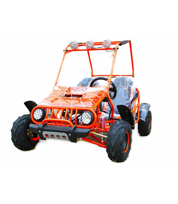 Buggy 125cc orange