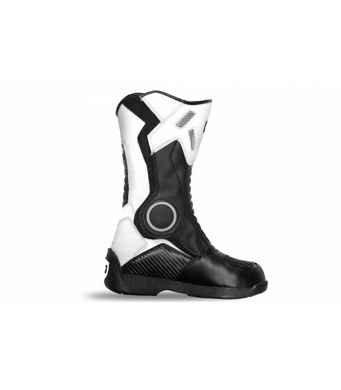 Dětské boty na motokros Kimo bílé 4b8a3408e9
