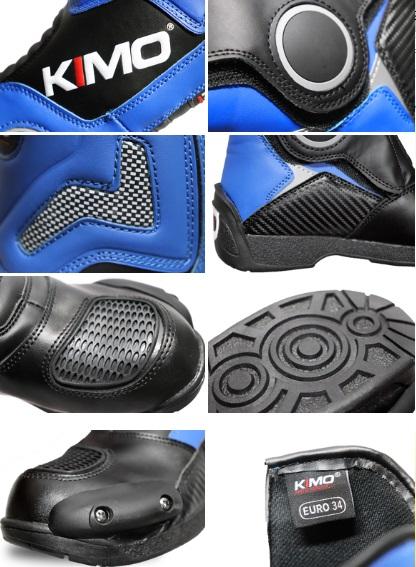 Dětské boty na motokros Kimo modré 9c82e98142