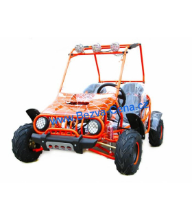 Buggy 125cc orange3+1