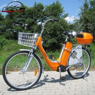 "ELEKTROKOLO - city bike 26"" orange"