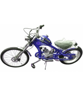 Moto kolo Chopper 80cc blue