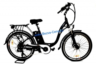 "E-city bike Lady 26"" 250W 36V černé"