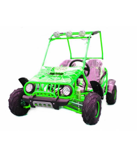 Buggy 125cc green 3+1